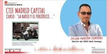 Presentación curso sobre la Radio y el Periódico escolar CTIF Madrid Capital