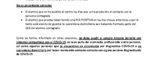 PROTOCOLO ACTUACÓN CASOS COVID19 CEIP MADRID SUR
