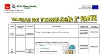 TECNOLOGÍA : SEGUNDO BLOQUE DE TAREAS, 18 MARZO
