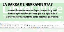 Barra herramientas LibreOffice