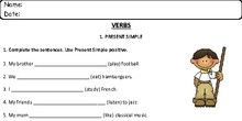 ALL VERB WORKSHEETS