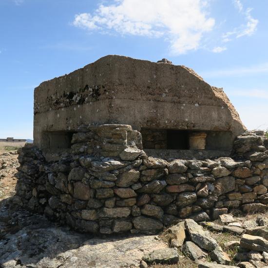 Fortificaciones de la Guerra Civil en Piñuecar-Gandullas (Frente Nacional) 7