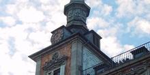 Torreón de la Casa de la Panadería en la Plaza Mayor de Madrid