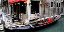 Góndola y gondolero, Venecia