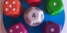 Juego dados: Math dice jr. 4