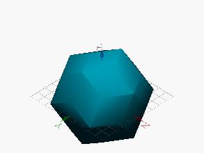 Romboedro de 30 caras