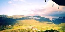 Vista aérea de Mae Hon Song, Tailandia