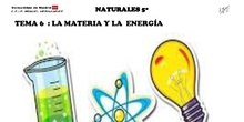 LA MATERIA Y LA ENERGÍA