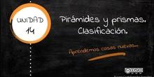 Clasificación de pirámides y prismas