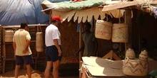 Comprando en mercado, Rep. de Djibouti, áfrica