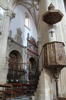 Púlpito y capillas, Catedral de Baeza, Jaén, Andalucía