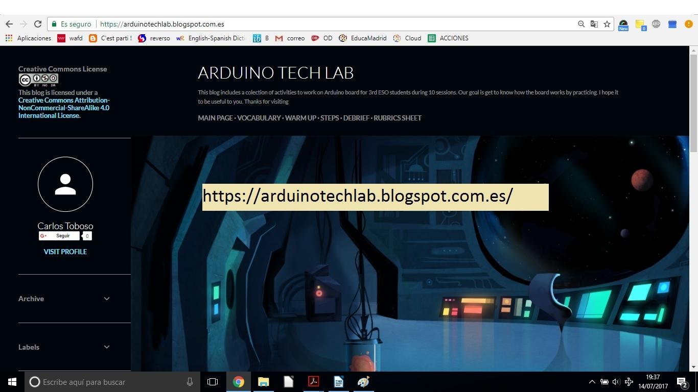 ARDUINO TECH LAB BLOG BY CARLOS TOBOSO IN-57