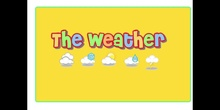 PRIMARIA 1º - SOCIAL SCIENCE - THE WEATHER - FORMACIÓN