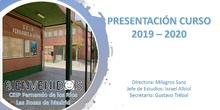 Presentación Curso 2019-2020_CEIP Fernando de los Ríos_Las Rozas
