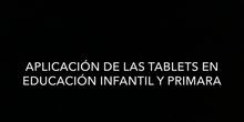 MEMORIA PROYECTO DE FORMACIÓN: APLICACIÓN DE LAS TABLETS EN ED. INFANTIL Y PRIMARIA