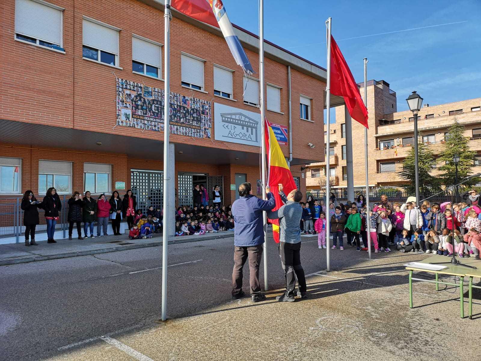 Dia de la Constitución ceip Ágora de Brunete 1