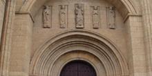 Portada de las Cadenas, Catedral de Ciudad Rodrigo, Salamanca, C