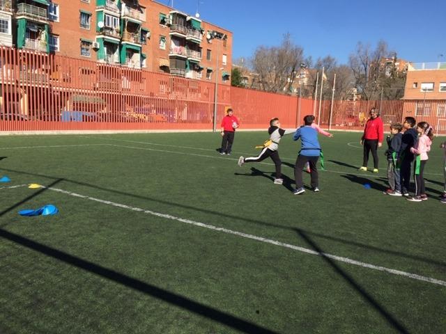 MAÑANAS ACTIVAS. Polideportivo San Vicente de Paul 1. Boxeo, Rugby, Padel y Hockey 12