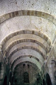 Bóveda de la planta noble de Santa María de Naranco, Oviedo, Pri