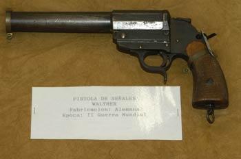 Pistola de señales Walther, Museo del Aire de Madrid