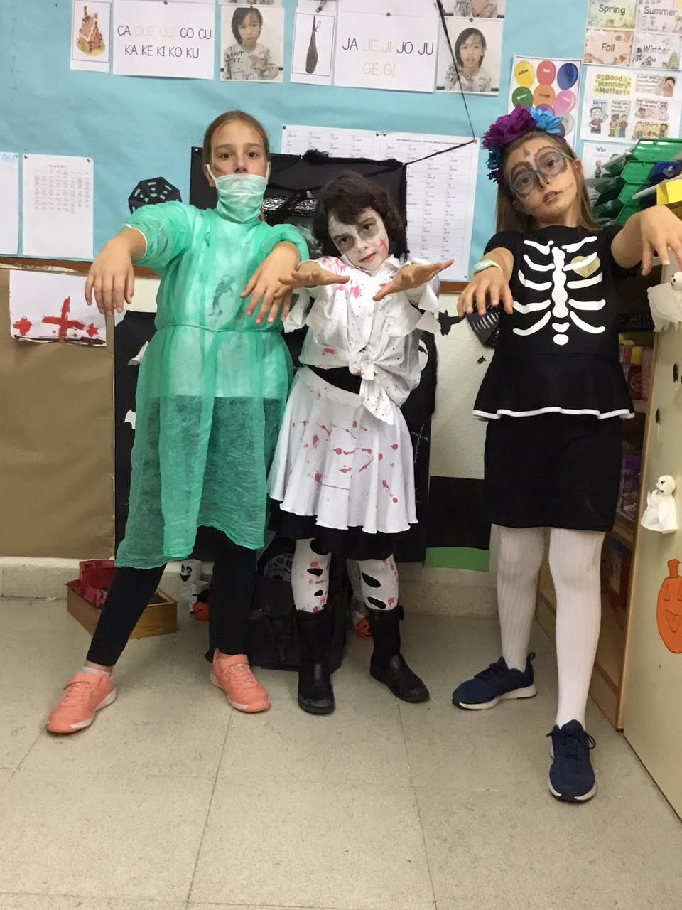 2018_10_31_Cuarto B disfruta en Halloween_CEIP FDLR_Las Rozas 10