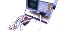Analizador Lógico AL-1610 con accesorios incluidos