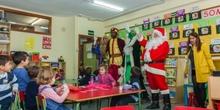 Los RRMM y Papá Noel en INF 4A