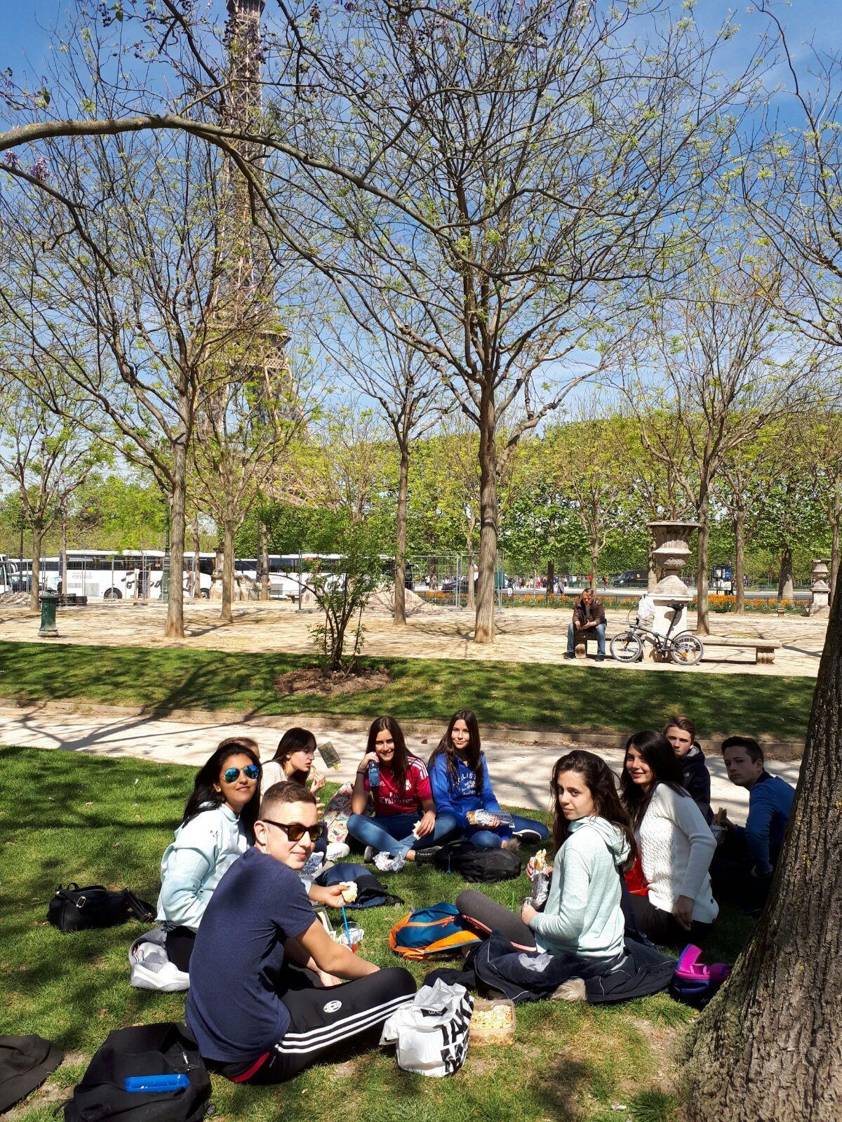 Intercambio Collège les Remparts. Abril 2017 20