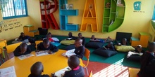 2019_10_10_Biblioteca de Kumwenya School_CEIP FDLR_Las Rozas 2