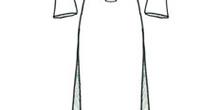 Vestido de novia con manga