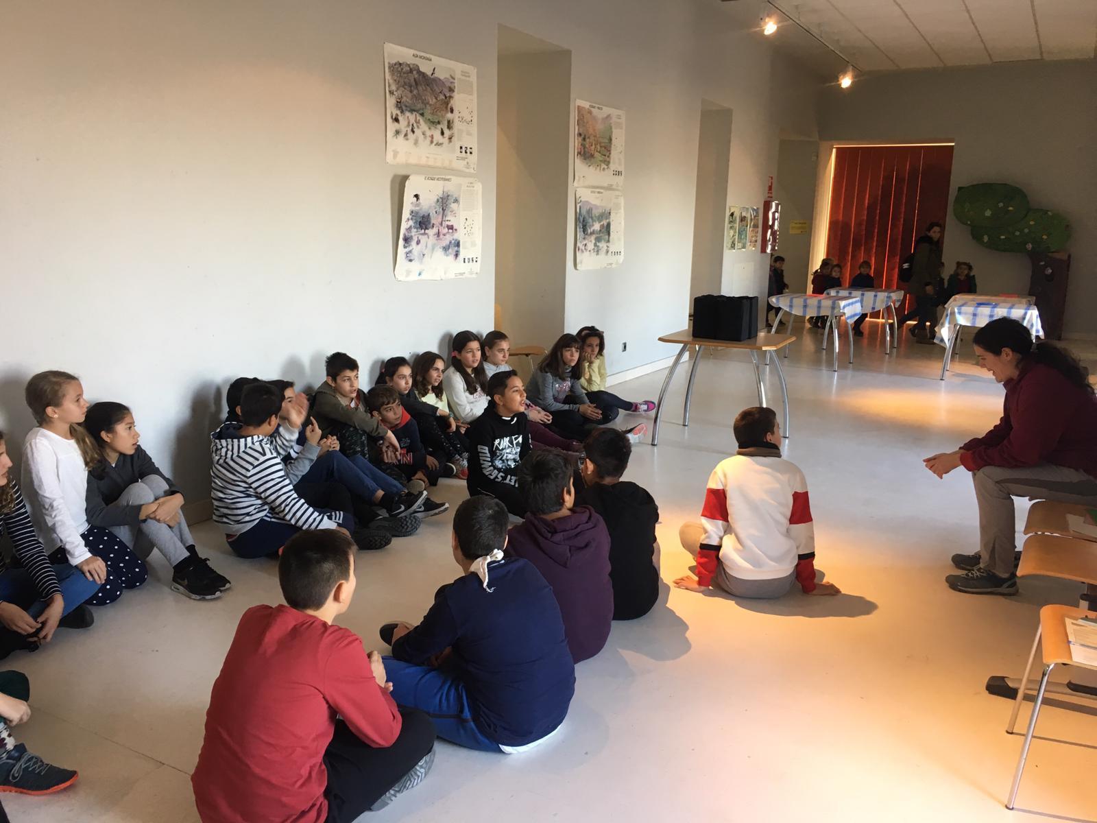 Centro de Interpretación de la Naturaleza. Montecarmelo. 6º curso. 23