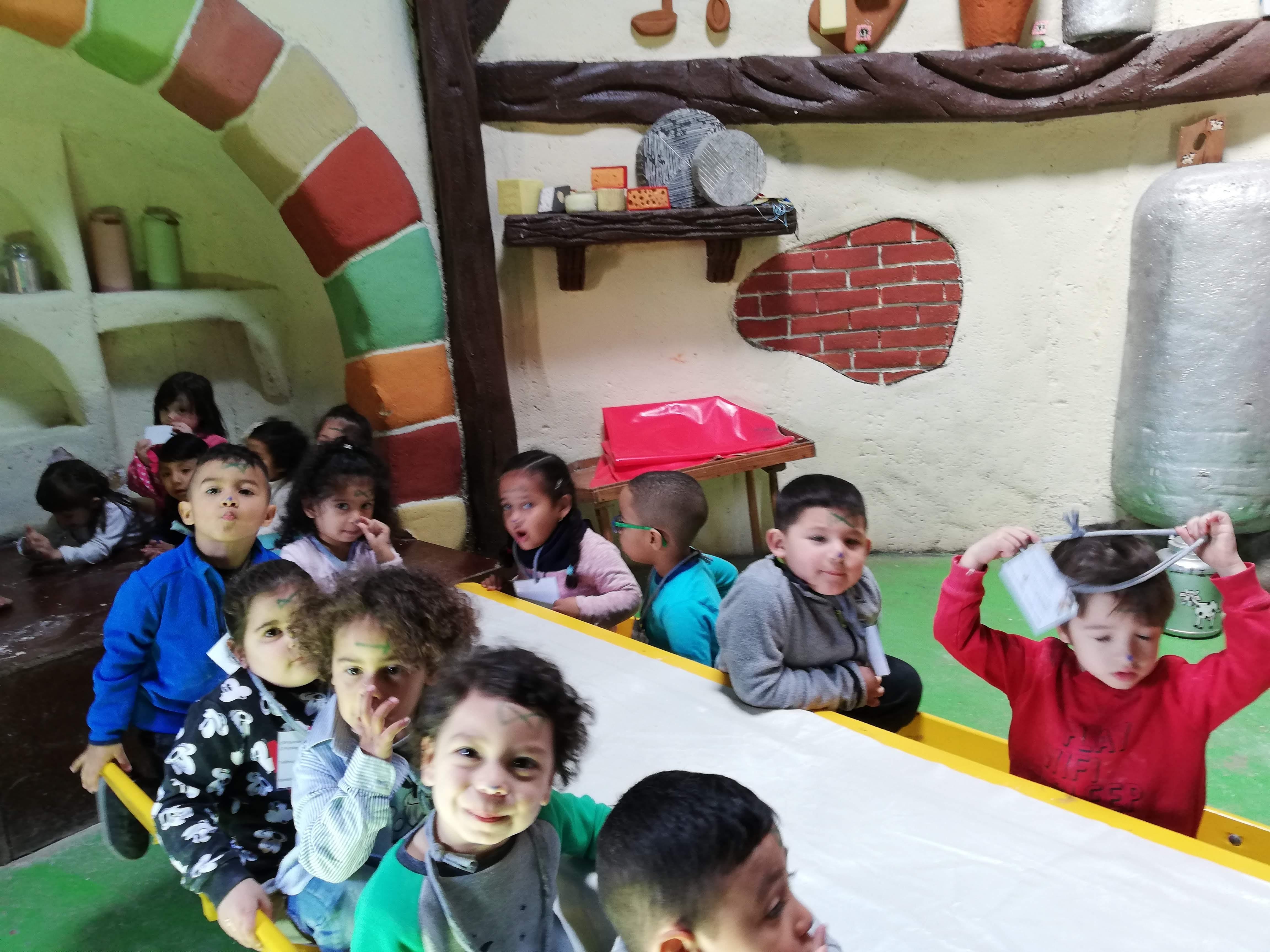 """Granja Escuela """"Giraluna"""". Infantil 3 años."""