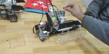 Robot clasificador de fichas por colores con LEGO