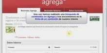 Incorporar contenidos de Agrega en Educamadrid