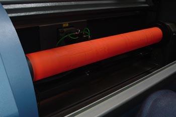 Cilindro de flexografía grabado