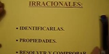 Ecuaciones Irracionales