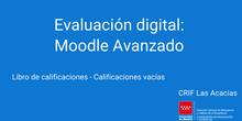Libro de calificaciones - Calificaciones vacías