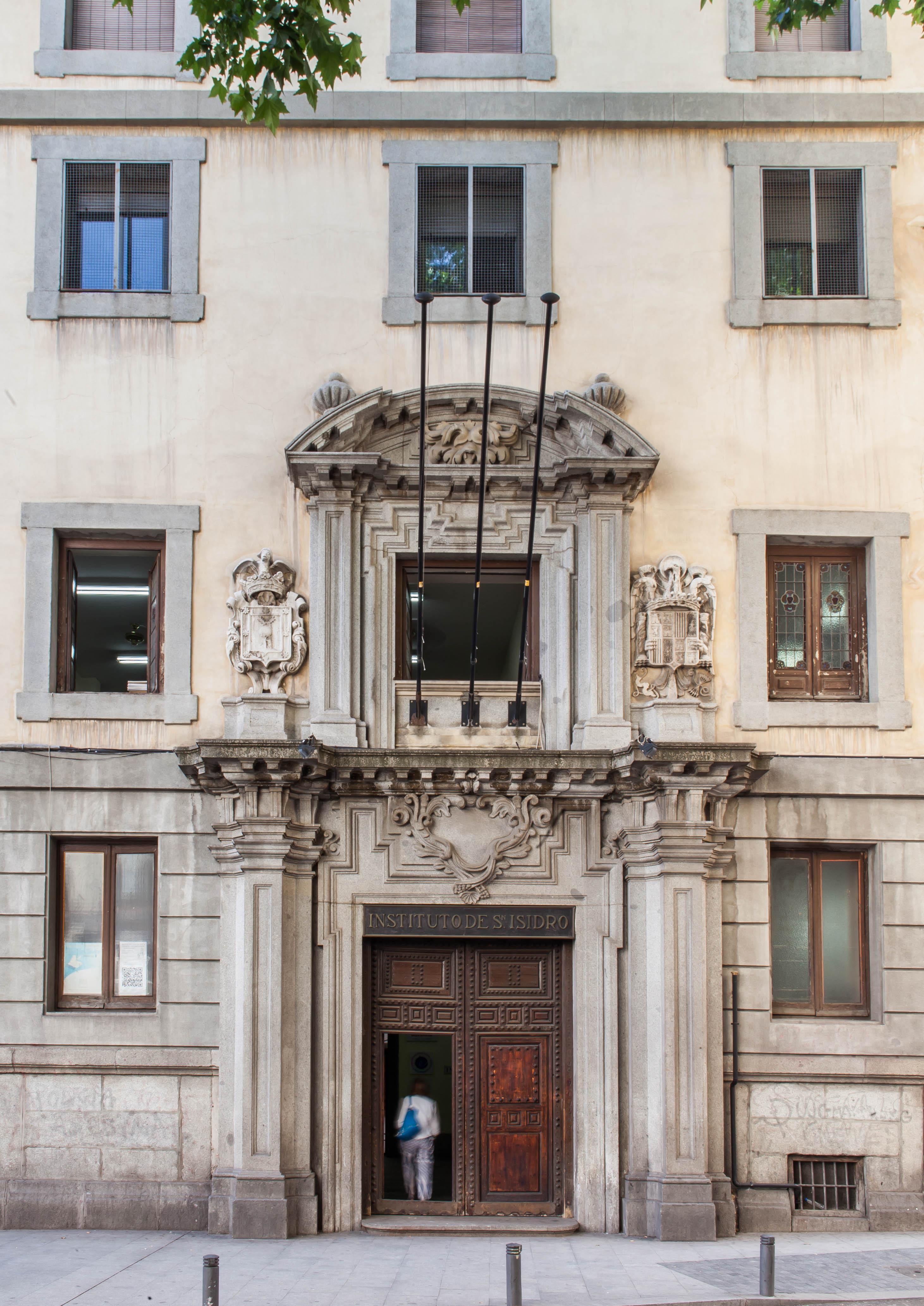 IES San Isidro. Edificio