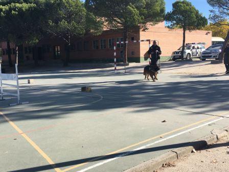 La Unidad Canina de la Policia Municipal de Las Rozas visita el cole_CEIP FDLR_Las Rozas_2017  6
