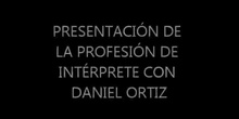 PROFESION DEL INTERPRETE
