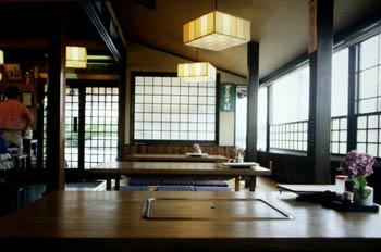 Interior de un restaurante japonés