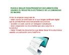Tramitación electrónica de documentos