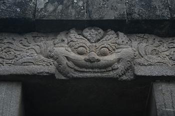 Decoración de los doseles, Prambanan, Jogyakarta, Indonesia
