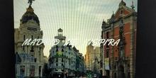 Madrid me inspira. Álvaro Vargas y familia. 1º ESO B tarea de lengua. IES Santa Teresa de Jesús.