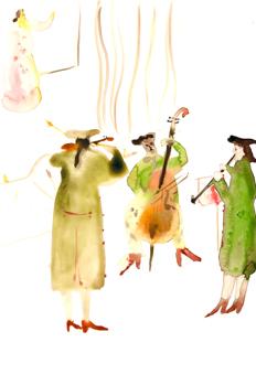 En la música y el baile