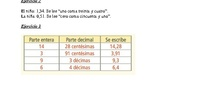 Soluciones matemáticas 3º