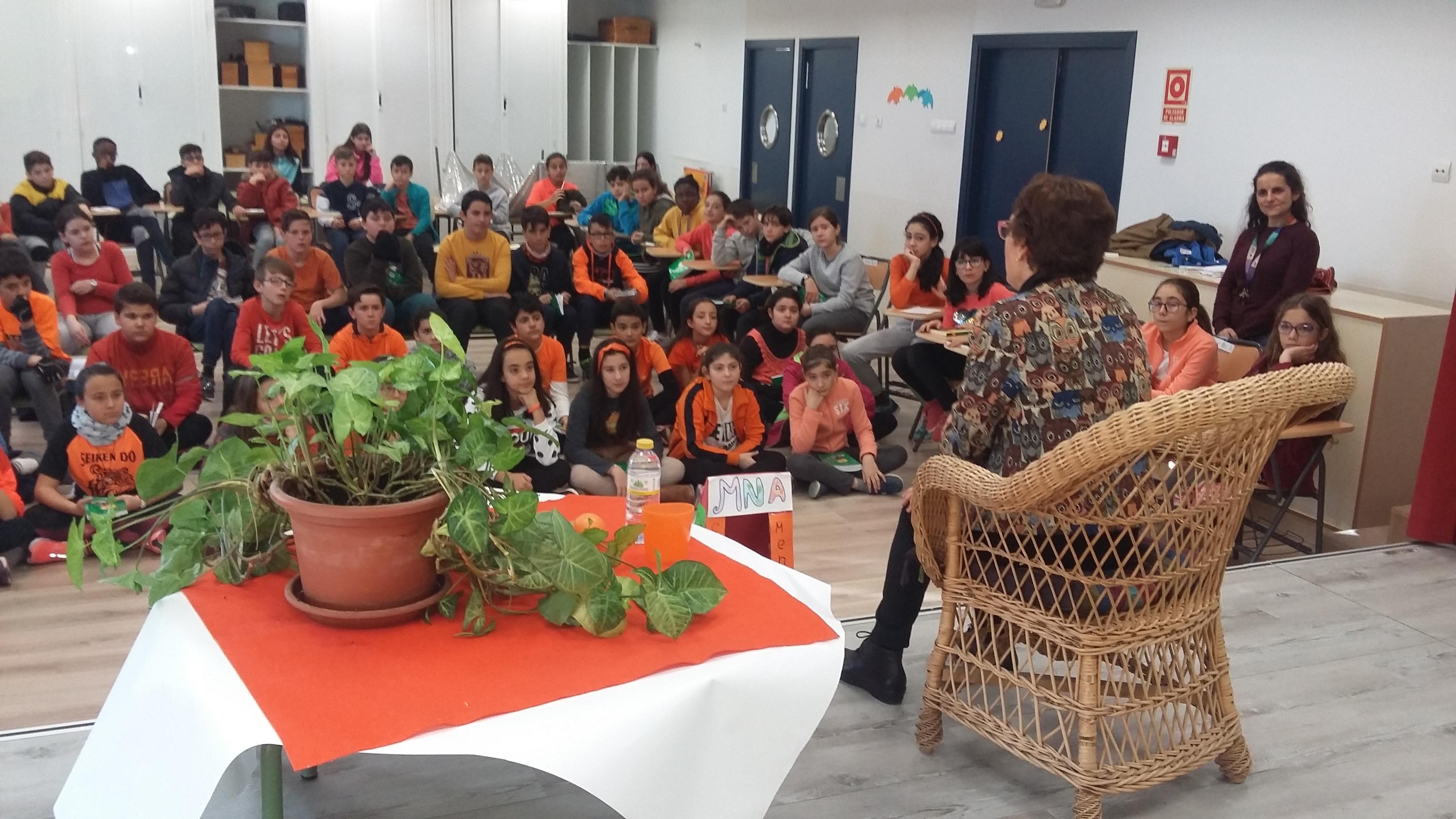 Encuentro con la escritora y actriz Elvira Menéndez 3