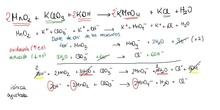 corrección ajuste redox en medio básico