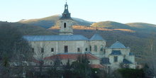 Vista de iglesia en Rascafría