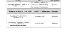 LIBROS DE TEXTO 19-20